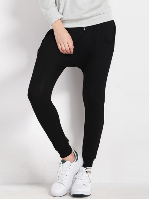 boy clients first search for best Women's Women Slim Pants Drawstring Hip Hop Baggy Casual ...