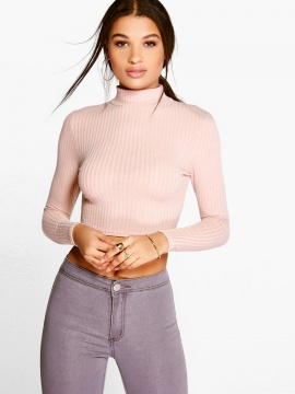 Womens High Neck Sweaters & Cardigans|IRISIE.COM