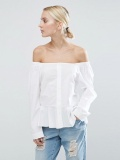 Shoulder Cotton Top
